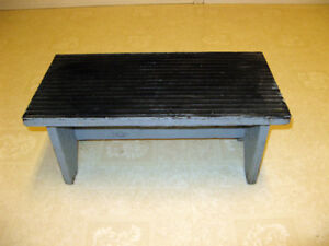 Sturdy Utility Wooden Step Stool (for garage, deck).