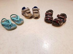 Boys shoes and sandals - size 5