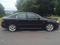 2007 Saab 9-3 Anniversary vector sport 1.9 tid 6 speed 150 bhp # sat Nav # leather # p/sensors#