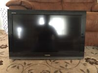 "Toshiba Regza 32"" TV with wall mount"