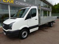 Volkswagen Crafter Tdi Cr35 Lwb Dropside Pick up