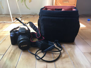 Barely-used Canon Rebel T2i DSLR Camera Starter Kit