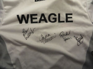 Lisa Weagle ROTR Game Used - Team Homan Signed Jersey