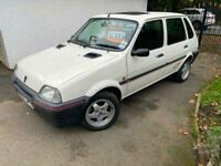 Rover Metro GTA in white very good condition mot,d ready to go