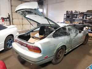 1990 Nissan 240SX Hatch Chassis+Kit only!!!