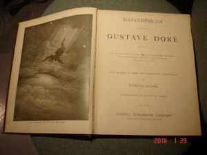Rare Book: Masterpieces of Dore, 1887 by Edmund Ollier