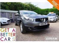 Nissan Qashqai Acenta Grey - 61 Reg - 55K - £179PM - NO DEPOSIT CAR FINANCE
