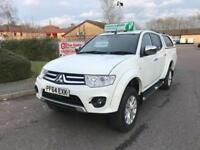 2015 Mitsubishi L200 2.5 DI-D CR Challenger Double Cab Pickup 4WD 4dr
