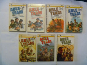 ABLE TEAM Paperbacks - many to choose from