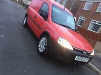 L@@k 2003 Vauxhall combo 1700 van **low miles of 57k**