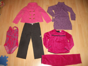 Set of clothes NEW spring coat , pants, dress ... size 5