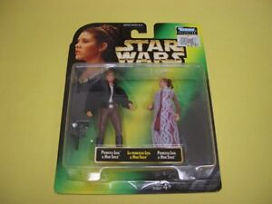 STAR WARS POTF PRINCESS LEIA COLLECTION SET OF 4 1997 London Ontario image 3