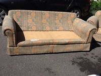 Large M&S sofa and chair