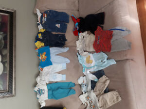 Baby boy clothes 0 to 3 mos