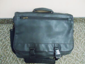 Black Messenger Business Organizer Bag - Like New