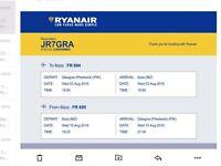 Ibiza return flights