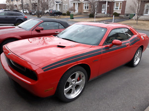 Dodge Challenger rt classic 2010