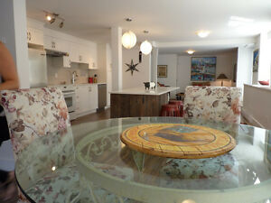 Luxury James Bay Garden duplex - partially or fully furnished