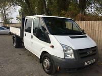 2009 09Ford Transit 2.4TDCi Duratorq DOUBLE CAB TIPPER 100PS 350LWB DRW