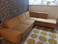 Large corner sofa bed 270x210 open to offer