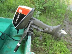 6 HP Johnson Outboard For Sale