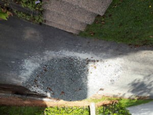 1' clear stone - gravel