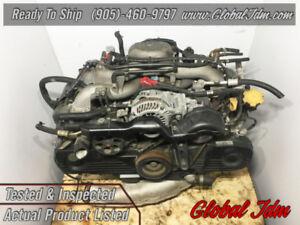 JDM 02-05 Subaru Forester SOHC EJ203 2.0L Replacement Engine OEM