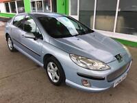 2004 Peugeot 407 1.6HDi 110 SE - 1 Year Mot will be provided - 2 Keys