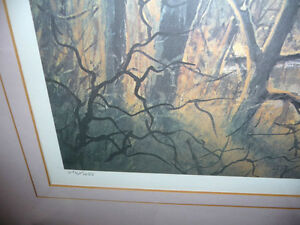 "Peter Robson ""Prelude To Spring"" Signed and Numbered Print Stratford Kitchener Area image 6"