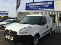 FIAT DOBLO CARGO 1.3 JTD- 12 MONTHS MOT -SERVICED -NO VAT -ONE OWNER WARRANTY