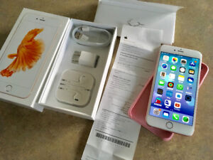 iPhone 6s PLUS Rose Gold Like NEW condition factory unlocked