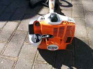 STIHL Kombi System Engine With Hedge Trimmer attachment