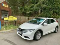 Honda Civic 1.4 i-VTEC SE 2013 5dr in white