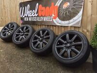 "17"" Mini Cooper alloy wheels and tyres / mini one"