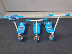 Thomas the train scooters
