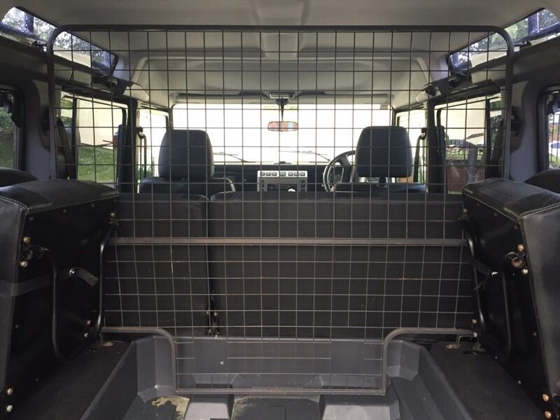 Land Rover Defender 110 Cargo Or Dog Cage Divider In