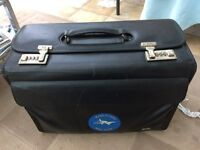 Samsonite lockable case.
