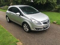 2009 09 PLATE VAUXHALL CORSA 1.3 CDTI A/C SXI 3 DR HATCH 6 SPEED MANUAL