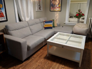 LIATORP coffee table off white