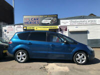 2008 FORD S-MAX 2.0TDCi 140 TITANIUM 7 SEATER ( AA ) BREAKDOWN COVER INCLUDED