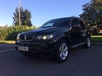 BMW X5 3.0D SPORT AUTOMATIC FULLY LOADED REAR TV'S BUILT IN PLAYSTATION