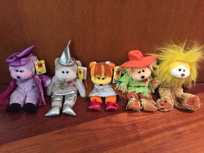 Rare Retired Beanie Kids - Wizard of Oz Collectibles  c81ef3ab7bf0