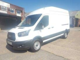 2017 67 FORD TRANSIT LWB HIGH ROOF / L3 H3 6 SPEED 130 TDCI 350 WITH ELECTRIC WI