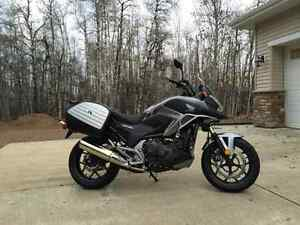 2015  NC750X Adventure package and ABS