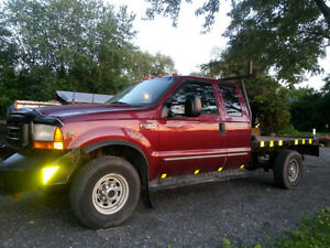 2000 Ford F-350 4x4 PARTING OUT in MARCH 2017