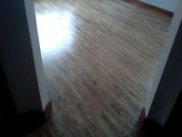 Professional Hardwood Floor Refinishing