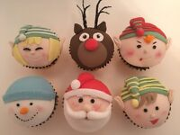Christmas Cupcakes and FruitCakes