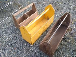 Vintage Wooden Open Tool Boxes Prince George British Columbia image 1