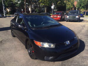 2007 Honda Civic 17 mags, AC, AUX Port Coupe (2 door)