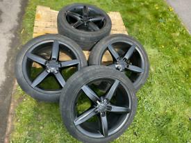 "18"" Audi Sline Florida Alloys, 5x112 rare alloys..."
